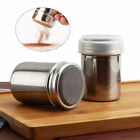 Stainless Steel Chocolate Shaker Icing Sugar Powder Cocoa Coffee Sifter UK