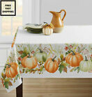 New Dining Harvest Fall Floral Wedding Party In Outdoor Spill-proof Tablecloth