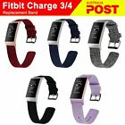 Fitbit Charge 3 Charge4 Canvas Woven Replacement Watch Band Bracelet Wrist Strap