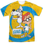 Authentic Mr Peabody & Sherman Explanation TV Show Sublimation Front T-shirt top