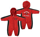 Tampa Bay Buccaneers NFL Baby Boys Newborn Infant Hooded Wind Coveralls, Red