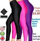 Kyпить Black Shiny Lycra Footless Leggings girls Dance Gym leotards ballet yoga (CC) на еВаy.соm