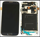 DISPLAY LCD+TOUCH SCREEN per SAMSUNG GALAXY S4 GT i9505 VETRO FRAME TELAIO COVER
