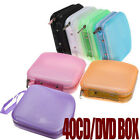 Внешний вид - Portable 40 Disc CD DVD Storage Zipper Bag Case Hard Box Wallet Album Holder TK