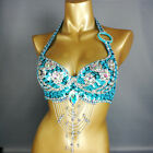 New womens belly dance costume beading bra belly dancing clothes Bellydance BRA