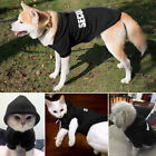 SECURITY Dog Coats Chihuahua Clothes Sweatshirt Pet Puppy Cat Jacket Hoodie S-XL