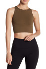 NEW Free People Movement Seamless Limber Crop Top Bra in Olive XS/S-M/L 47.12