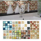 20Pcs Self Adhesive Tile Floor Wall Decal Sticker DIY Kitchen Bathroom Decor NEW