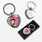 BETTY BOOP PERSONALISED KEYRING ENGRAVED MOTHERS DAY BIRTHDAY CHRISTMAS GIFT £7.99 GBP on eBay