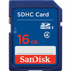 SanDisk 16GB 32GB 64GB SD HC Class 4 Flash SDHC Memory Card Photography Camera