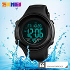 SKMEI Men Military Sports Watch Luxury LED Digital Water resistant Mens Watches image