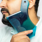 Beard Shaping Tool Comb Styling Beard Template For Perfect Lines And Symmetry