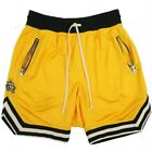 US Mens Athletic Jersey 2 Pocket Mesh Shorts Gym Workout Basketball Fitness <br/> ❤US STOCK❤HIGH QUALITY❤FAST SHIPPING❤EASY RETURN❤