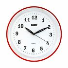 CAMY  Round Wall Clock Quality Quartz Battery Operated for Home Decor AS12