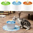 Automatic Electric Pet Water Fountain Dog Cat Drinking Bowl 1.6L with EU/US Plug