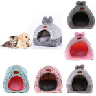 Washable Pet Cats Dogs Kennel Nest- Dog Bed House Igloo Shaped Hiding Cave