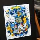 Junior Seau #55 - San Diego Chargers - Los Angeles Chargers - 3D Effect $24.0 USD on eBay