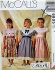 McCall's Sewing Pattern # 6805 Girls Dresses by Alicyn Exclusives Choose Size