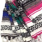 Genuine Falsa Mexican Blanket Hand Woven Serape Throw Yoga Mat Made in Mexico image