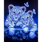 Внешний вид - 5D DIY Tiger Diamond Painting Embroidery Full Square Diamond Home Decoration