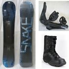"NEW ""SNAKE"" SNOWBOARD, BINDINGS, BOOTS PACKAGE - 148cm, 151cm"