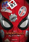 """Spider man Far From Home Movie Poster 24x36"""" 27x40"""" 32x48"""" New Marvel Art Print"""