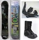 "NEW FLOW ""ELATION"" Women's SNOWBOARD, BINDINGS, BOOTS PACKAGE - 153cm"