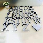 Decals Home Decor Alphabet Art Wall Stickers 3d Logo Mirror Surface 26 Letters