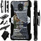 LUXGUARD For Onyx / Feller / Miro Phone Case Holster Cover CAMO METAL SCRAP