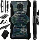 LUXGUARD For Onyx / Feller / Miro Phone Case Holster Cover CAMO MESH GREEN