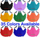 360 Chiffon Belly Dance Full Circle Long Skirts 9Yd Tribal Oriental Jupe Costume