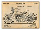 1928 HARLEY DAVIDSON MOTORCYCLE PATENT GLOSSY POSTER PICTURE PHOTO LIVE TO RIDE