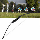 40LBS Folding Takedown Straight Bow Archery Hunting Longbow Outdoor Shooting Hot