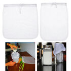 Washable Reusable Food Grade Nylon Mesh Filter Bag Strainer Kitchen Purifier Set