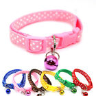 Lovely Cartoon Small Pet Collar With Bell Buckle For Cat Kitten Dog Puppy Safety