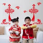 Chinese New Year Red Wall Sticker Window Door Sticker Decal Art Home Room Decor