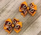 Washington Redskins Toddler Hair Bow Set $6.5 USD on eBay