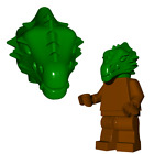 Внешний вид - Brickwarriors DRAGON MAN HEAD for Minifigures -Pick your Color!- Castle LOTR