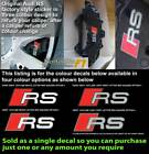 Audi RS Brake caliper decal sticker fit RS style caliper Option 2