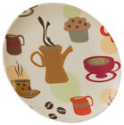 Vango, Bamboo 20cm Dessert Plate (Eco-Friendly), 12 Pack- Unused Sample (X1AM)
