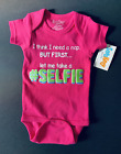"Sara Kety Girls' "" let me take a # SELFIE"" - Baby Size 6-12 Months"