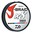 Внешний вид - Daiwa J-Braid X8 Braided Fishing Line - 550 Yards (500 M) Multi-Color Line