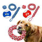 Big Dog Toys for Aggressive Chewers Dog Interactive Pull Chew Toy Rope Ball Tug