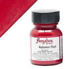 U-ANGELUS ACRYLIC LEATHER PAINT FOR VINYL LEATHER PURSE 1 OZ ALL 80 COLORS U-N-V