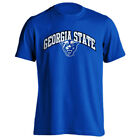 Georgia State University GSU Panthers Arch Text with Mascot Short Sleeve T-Shirt