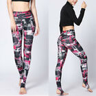 Women's sports gym yoga pants leggings fitness stretch trousers workout wear