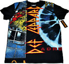 Def Leppard Band Hysteria Pyromania Adrenalize Licensed Adult T Shirt NEW image