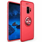 Metal Magnetic Ring Case Shockproof Protect Back Cover for Samsung Galacy Note 9