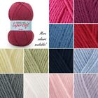 Sirdar Supersoft Aran Baby Yarn Acrylic Knitting Crochet Crafts 100g Ball Wool