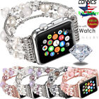Kyпить For Apple Watch Series 5 4 44MM Bling Agate Beads Strap Bracelet Band iWatch 2 3 на еВаy.соm
